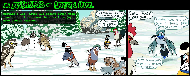Would it be a snow quail or a quail angel?